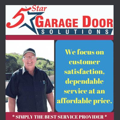 Avatar for 5 Star Garage Door Solutions