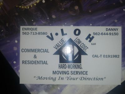 Avatar for VLOH Moving La Habra, CA Thumbtack