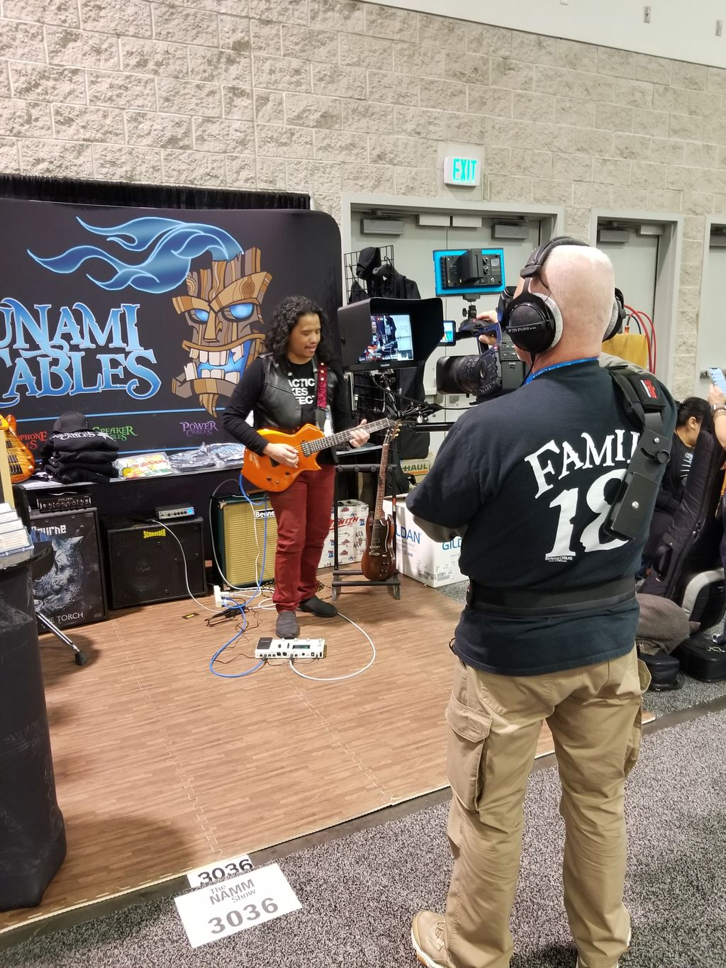 NAMM 2020 for Tsunami Cables