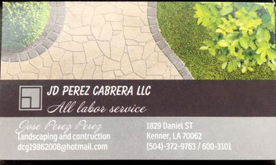 Avatar for JD Perez Cabrera LLC Kenner, LA Thumbtack