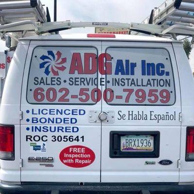 Avatar for ADG AIR INC Glendale, AZ Thumbtack