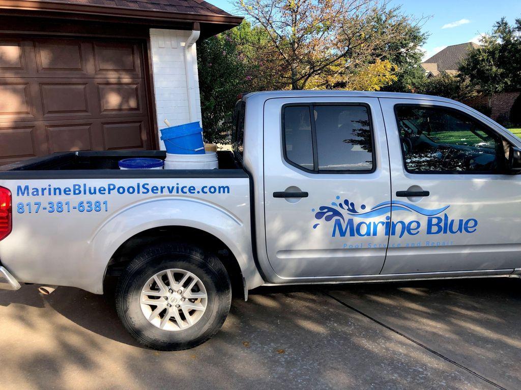 Marine blue pool service & repair
