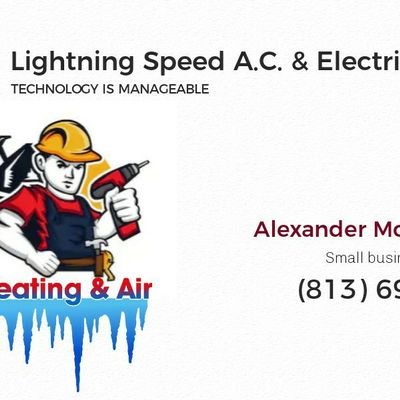 Avatar for LIGHTNING SPEED AC AND ELECTRIC Tampa, FL Thumbtack