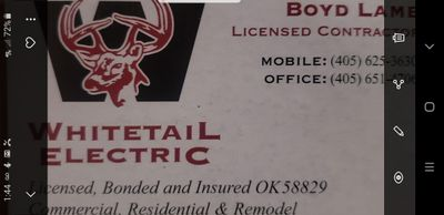 Avatar for Whitetail Electric LLC Oklahoma City, OK Thumbtack