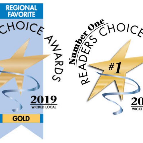 Proudly chosen as a regional favorite!