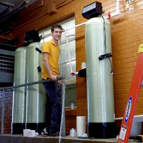 St Boniface Brewery installation Ephrata, Pa