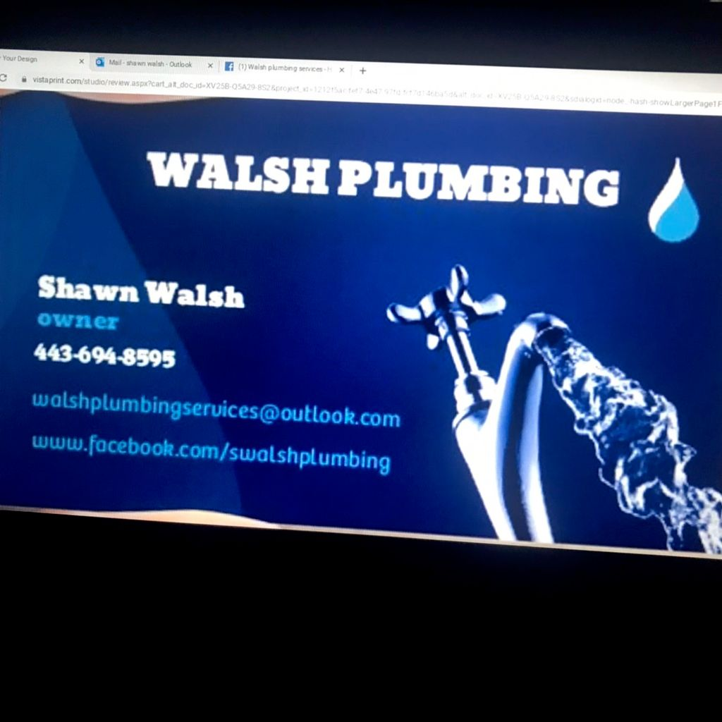 Walsh plumbing services