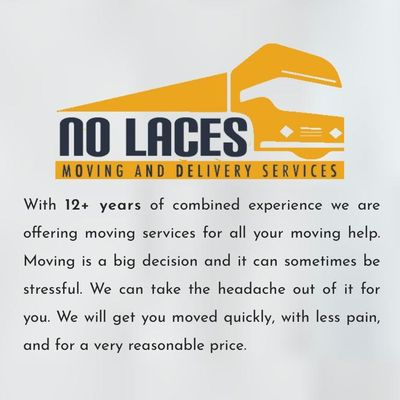 Avatar for No Laces Moving Co. North Hollywood, CA Thumbtack