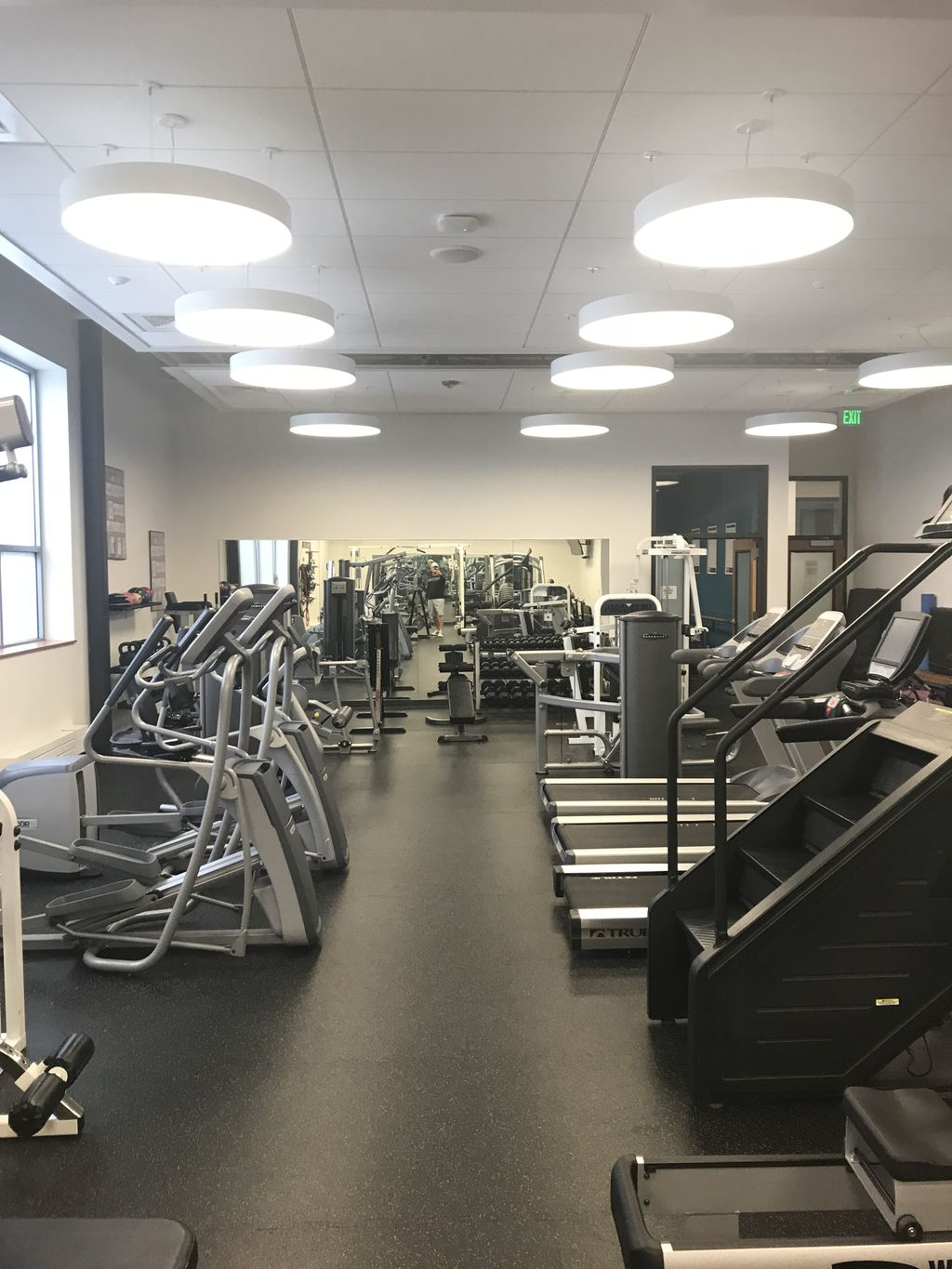 Company employee gym makeover