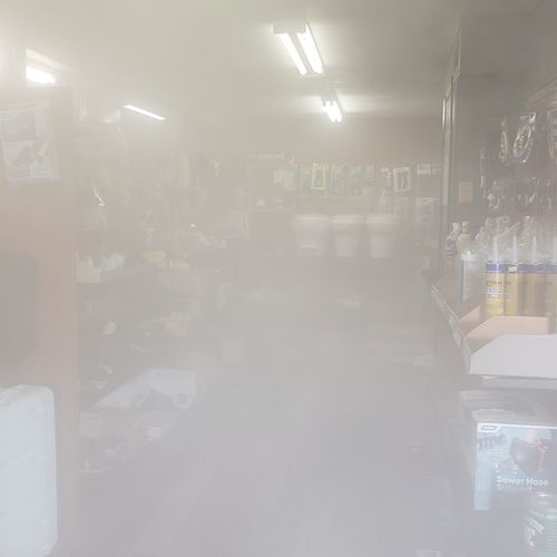 Fogged Commercial Space