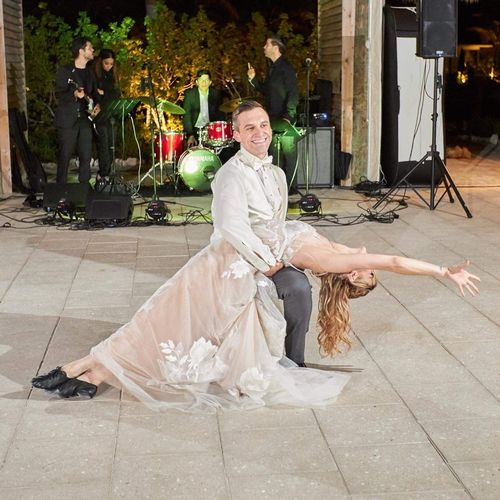 My beautiful happy wedding couple's dance finale! Love them to death!