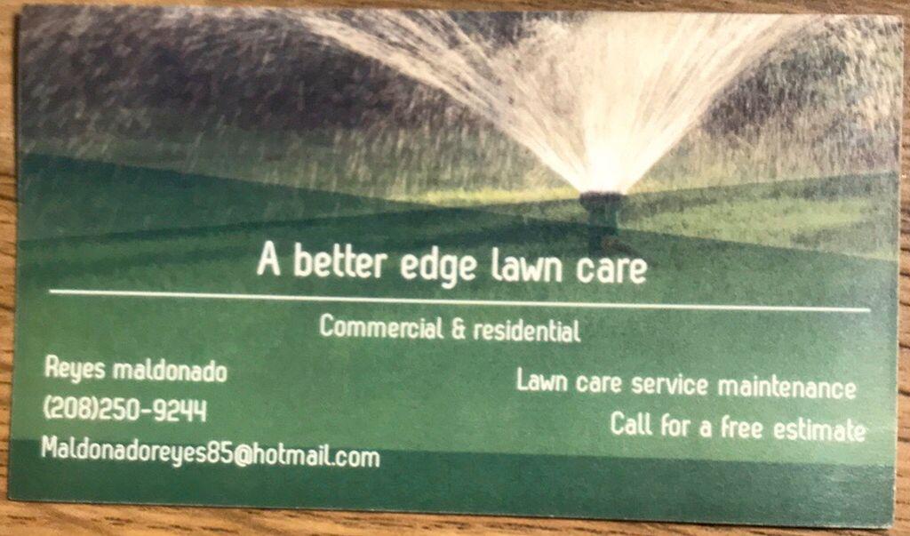 A better edge lawn care LLC