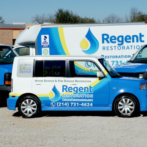 Our crews are ready to respond to your water damage emergency 24/7