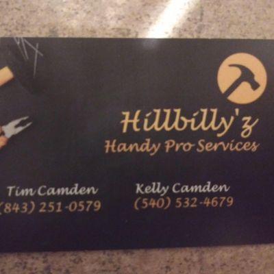 Avatar for Hillbilly'z Handy Pro Services