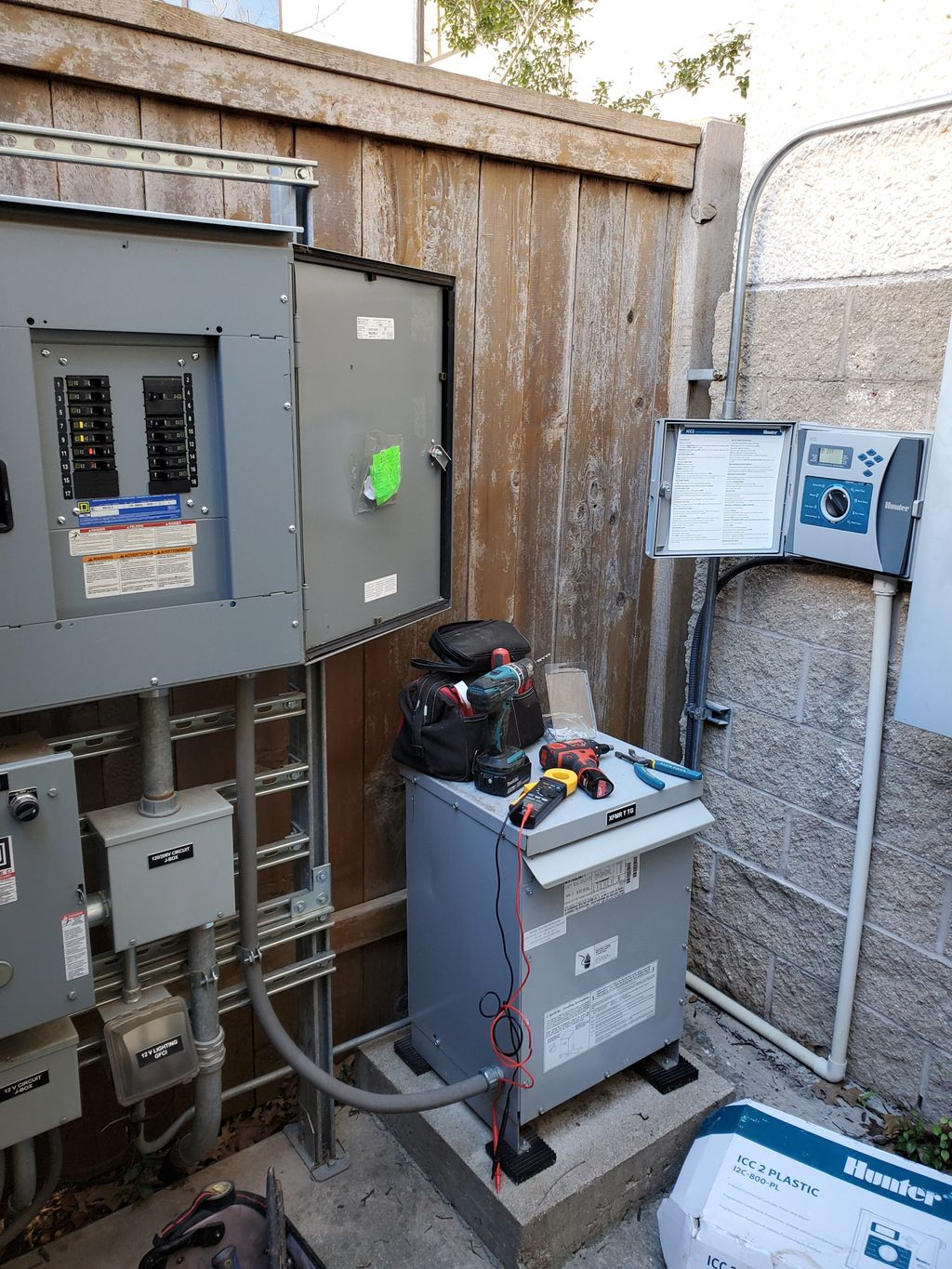 Replace irrigation controller
