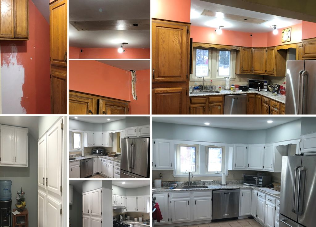 Kitchen Repainting