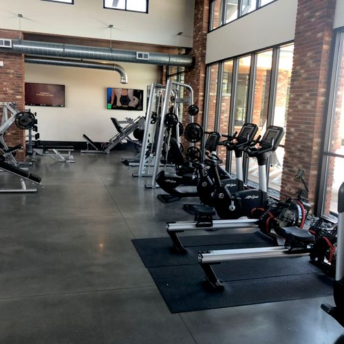 The gym where we will be training.