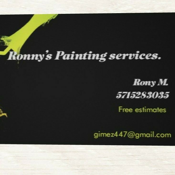 Ronny's painting services