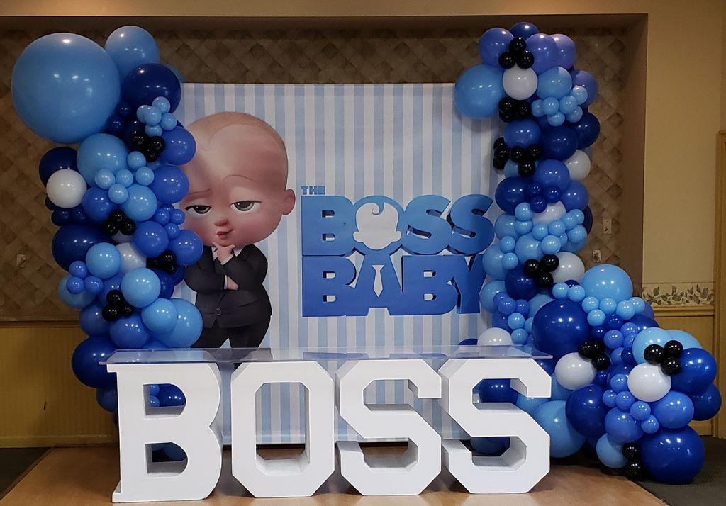 Boss baby ballons