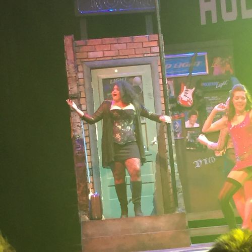 Selena D. singing one of her solos in Rock of Ages!  She played Justice, the part played by Mary J. Blige in the movie!