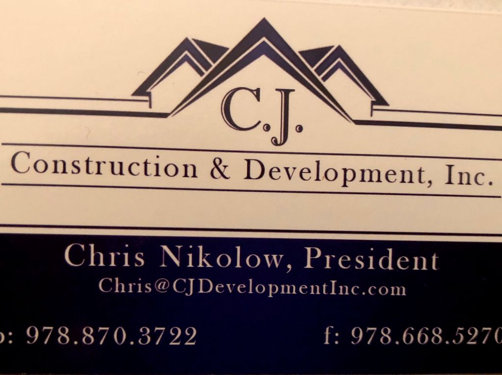 C. J. Construction & Development Inc.