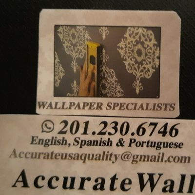 Avatar for ACCURATE WALLPAPERING, PAINTING, DRYWALL, DECAL Hackensack, NJ Thumbtack