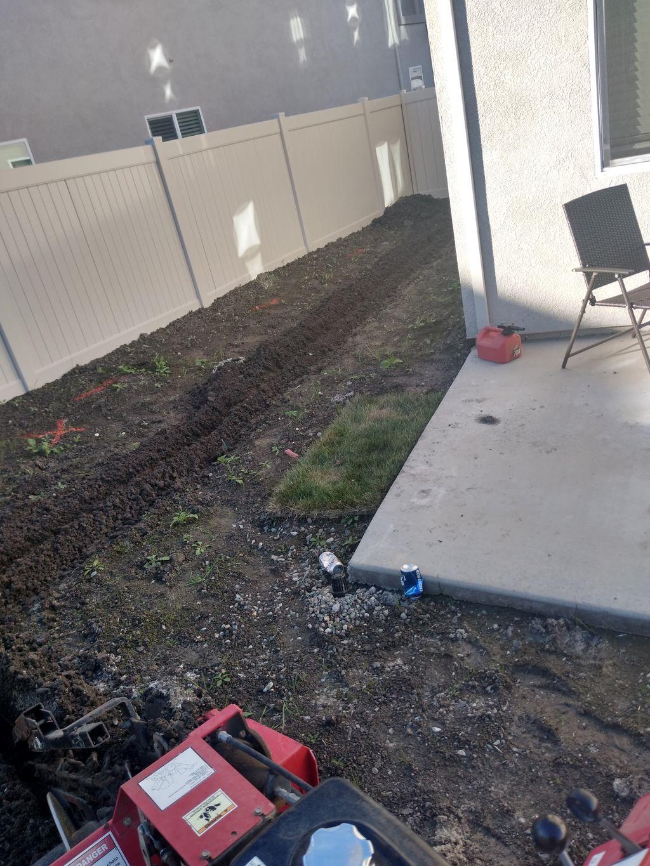 Landscaping The Backyard