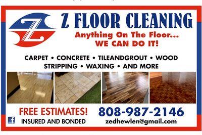 Avatar for Z Floor Cleaning LLC -UT Salt Lake City, UT Thumbtack