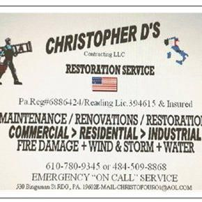 Avatar for Christopher D's Contracting LLC Reading, PA Thumbtack