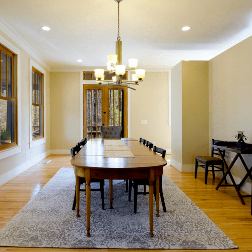 AFTER - Staged/Painted Dining Room