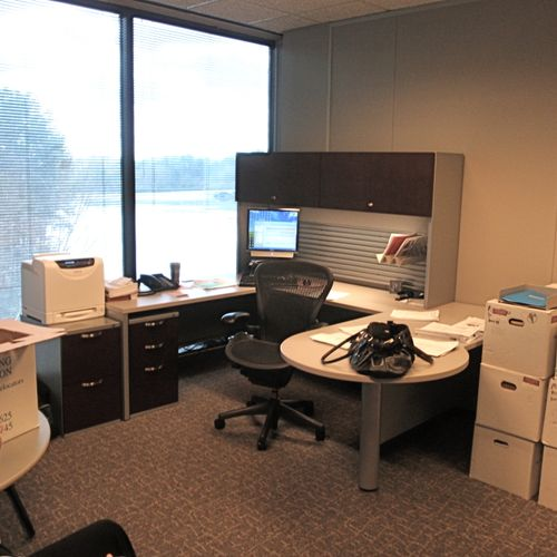 BEFORE- 1) Office Redesign/Staging