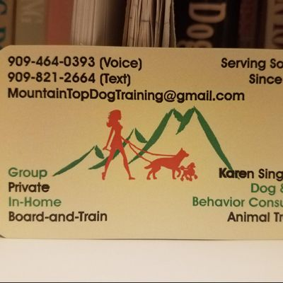 Avatar for Mountain Top Dog Training