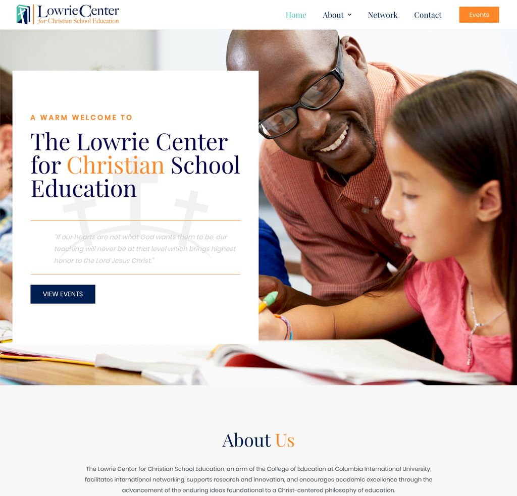 Lowrie Center Website