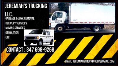 Avatar for Jeremiah's Trucking LLC. Jamaica, NY Thumbtack