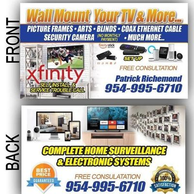 Avatar for Wall mount your tv & more Fort Lauderdale, FL Thumbtack