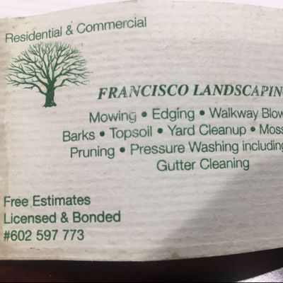 Avatar for Francisco landscaping Seattle, WA Thumbtack
