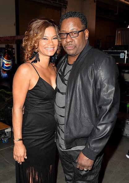 2015 Soul Train Awards Bobby Brown and Alicia Etheridge
