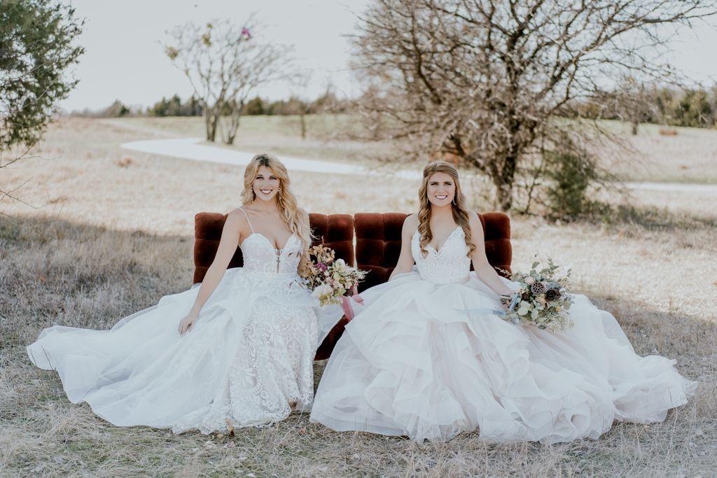 Sister Bridal Portraits