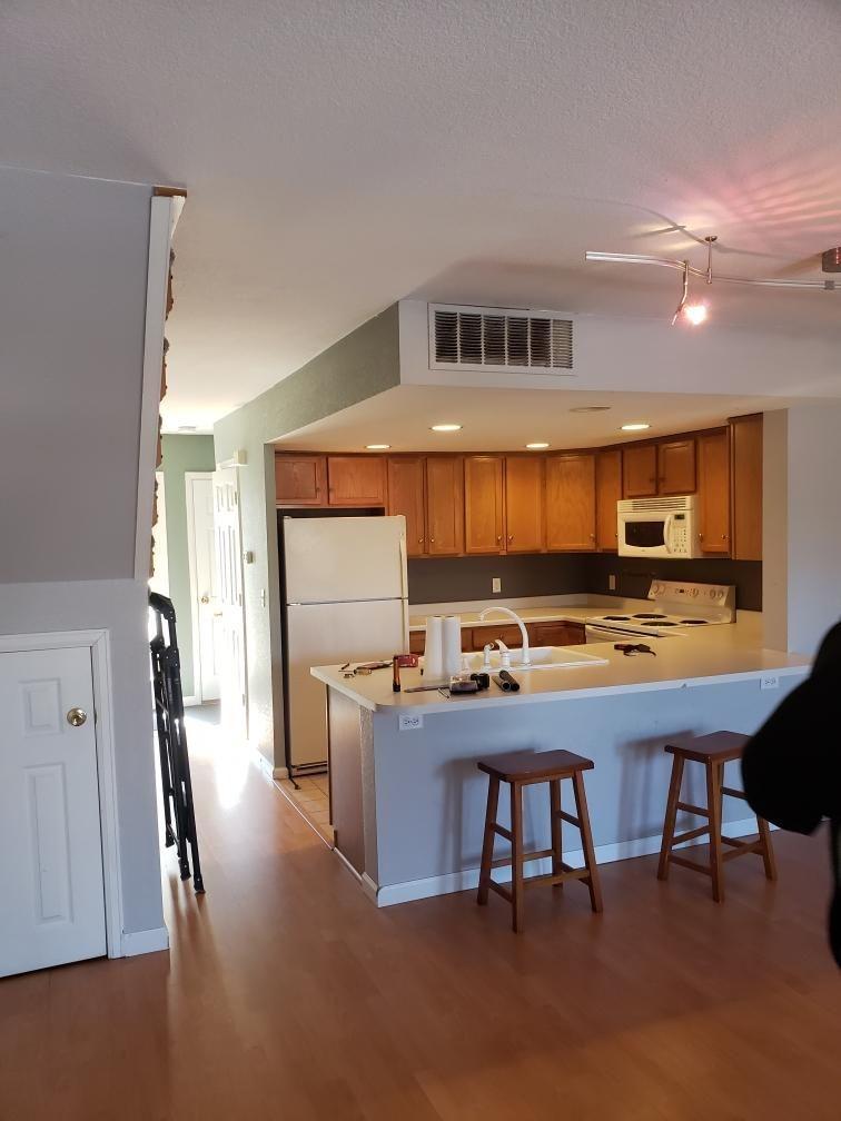 Kent P Townhome kitchen