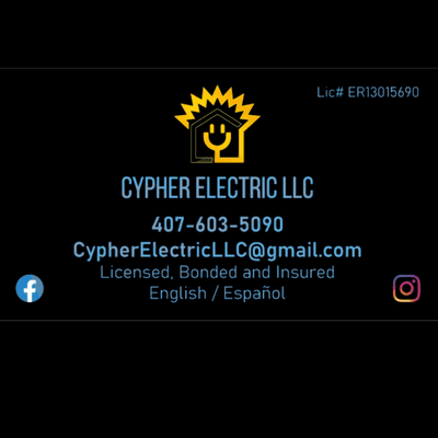 Avatar for Cypher Electric LLC St. Cloud, FL Thumbtack