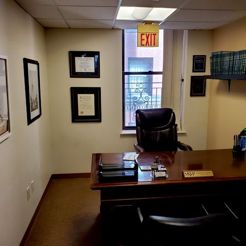 My office at 45 Bromfield in Boston, near Downtown Crossing.