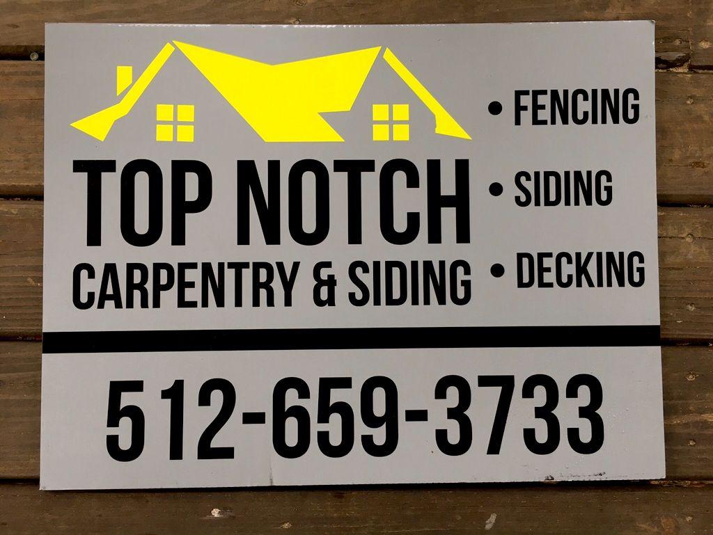 TOP NOTCH CARPENTRY & SIDING