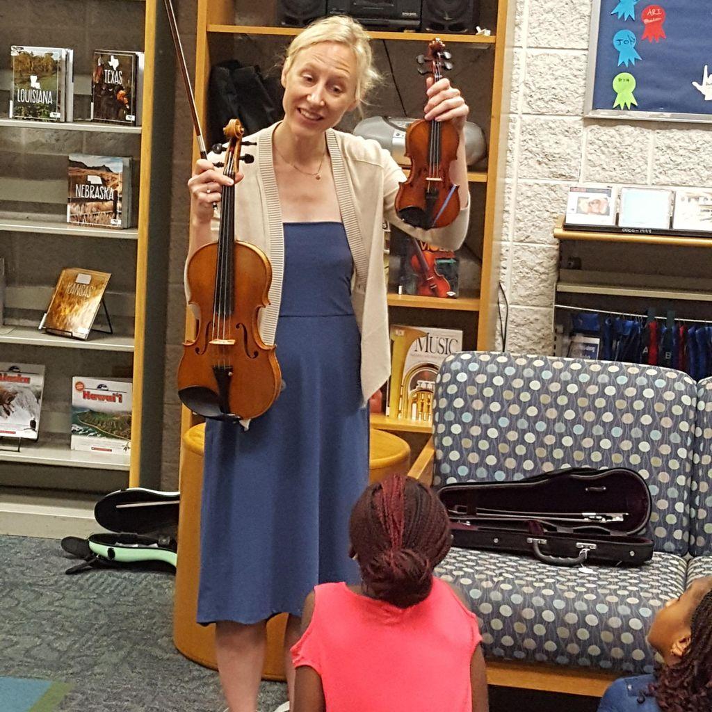 Jessica Hoffman Suzuki Violin & Viola Teacher