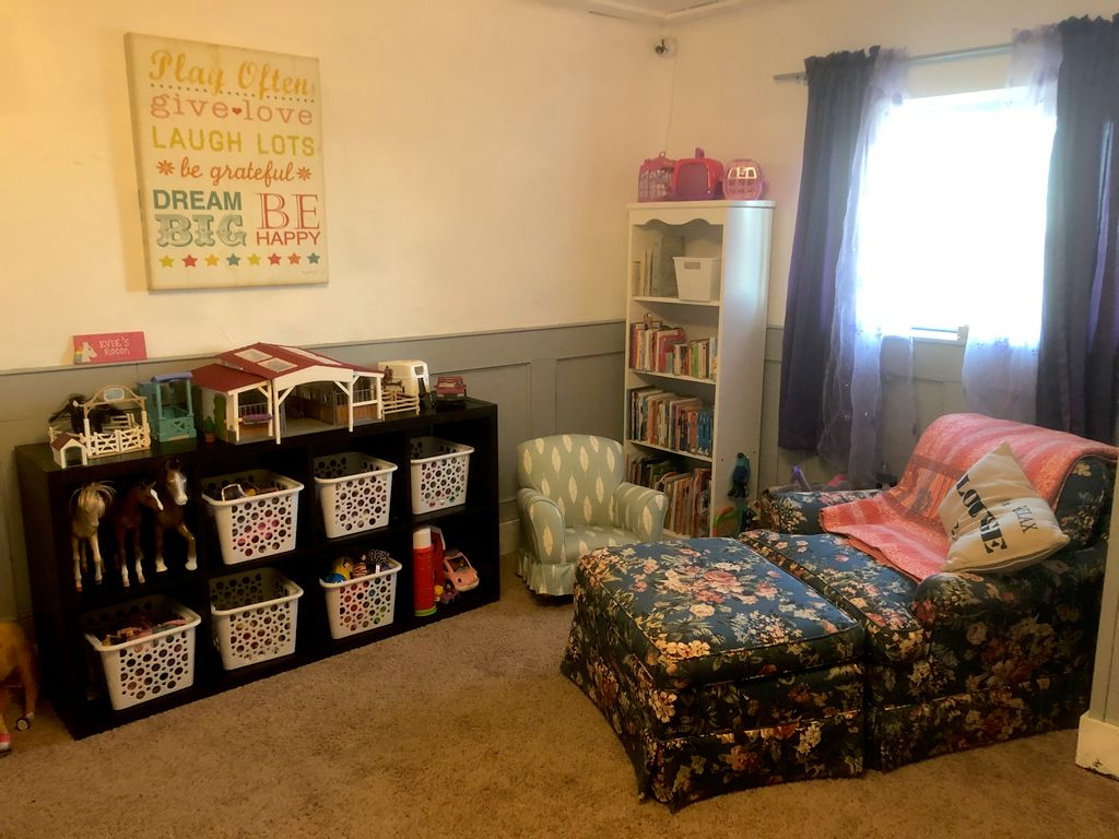After Photo of Girl's Playroom