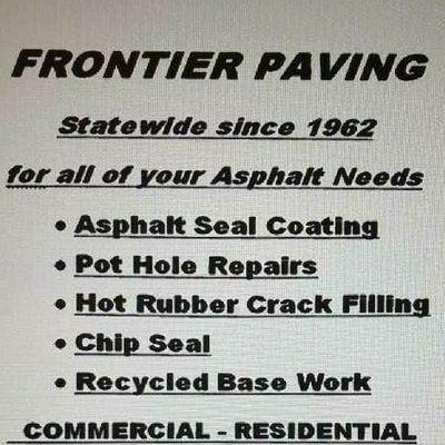 Avatar for frontier Asphalt paving & seal coating Alvarado, TX Thumbtack