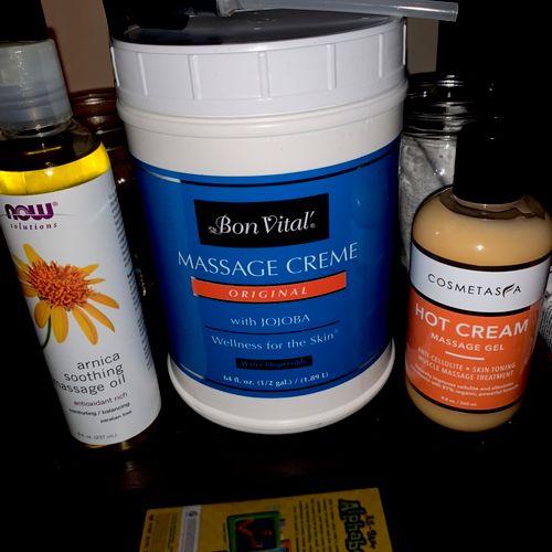 Natural products for professional use