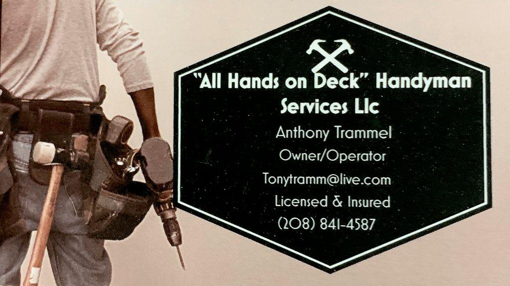 All Hands on Deck Handyman Services llc