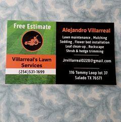 Avatar for Villarreal's lawn services Salado, TX Thumbtack