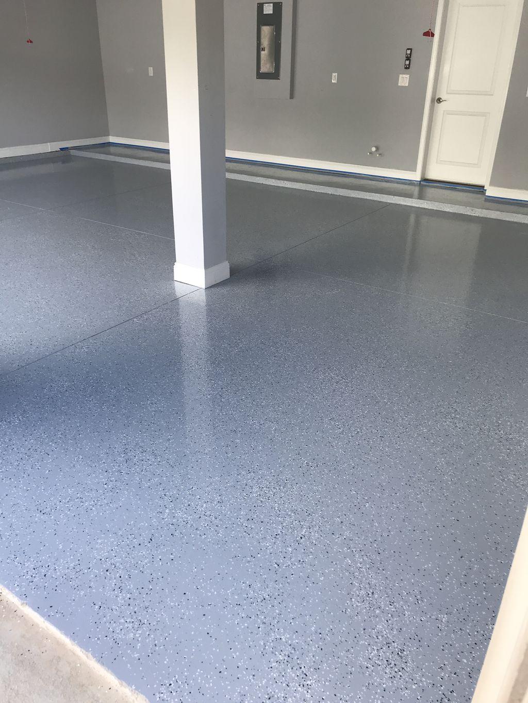 Armor seal epoxy garage floors