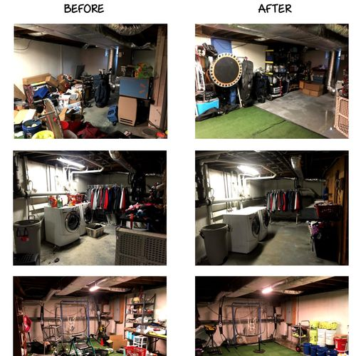 Basement Project- N. Andover